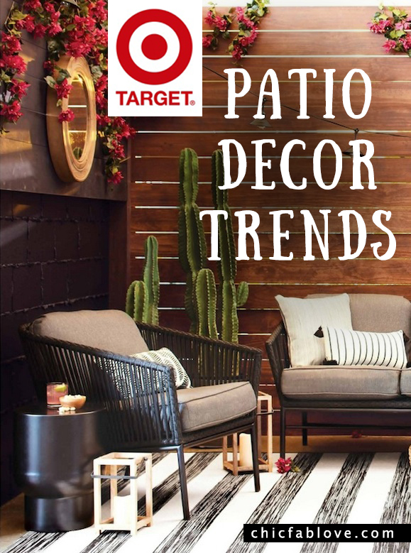 Target patio decor trends 3 styles spring ready chic for Home decorations at target